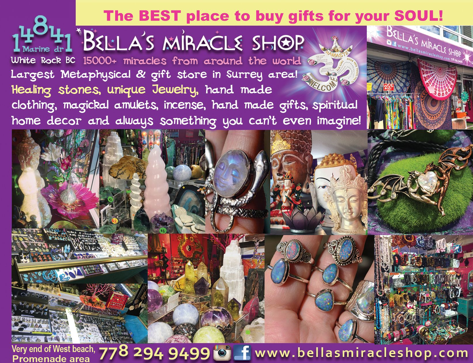 BELLA'S MIRACLE SHOP   Miracles from around the world