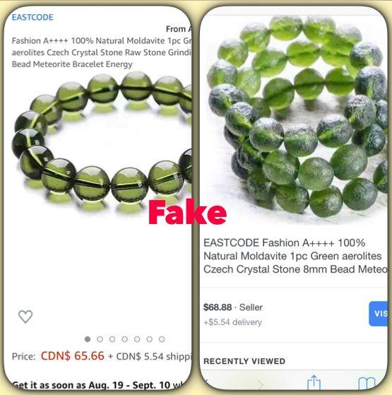 moldavite necklace | BELLA'S MIRACLE SHOP